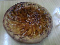 Tarta de manzana con pasta Brisa, cubierta con mermelada de mandarina y azúcar quemado   ; )
