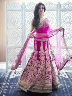 Manish Malhotra bridal lehenga- OMG that fitted fish tail is gorgeous...reception/ engagement outfit?