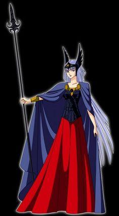 8- Hilda (Saint Seiya)