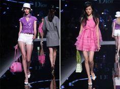 """Dia 15 foi a vez de Galliano desfilar a coleção Cruise 2011 para a Dior. Após o lançamento do 3º curta metragem da série """"Lady Blue Shangai"""", com Marion Cotillard, o grupo LVMH escolheu… Shangai! como locação para o desfile e cidade para inaugurar sua mais nova loja da marca. O desfile foi lindo e …"""