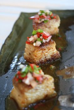 Spicy Orange Miso Pork Belly