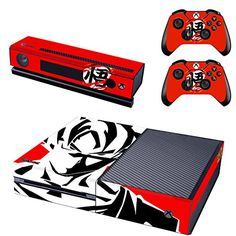 FreeSticker XBOX ONE Designer Skin Game Console System 2 Controller Decal Vinyl Protective Stickers Microsoft XBOX ONE  for Kinect  Dragon Ball Z Battle Super Saiyan 5 God Son Goku DBZ Heroes Fan *** For more information, visit image link.Note:It is affiliate link to Amazon. #food