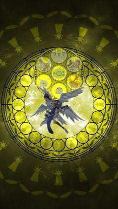 Angemon Evolution Line - Kingdom Hearts - Crest of Hope - Digimon