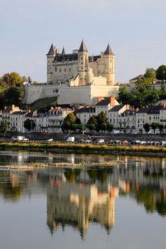 Château de Saumur, Maine-et-Loire, France  3 hr. drive S.E. of Paris - E. of Tours