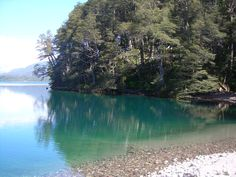 Falkner lake. Argentina