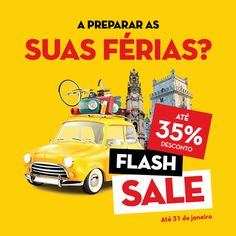 Imagem Campanha Flash Sales - HF Hotéis Fénix - Janeiro 2017 © Amora Design