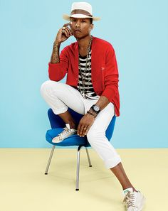 Rocket Magazine | PHARRELL WILLIAMS PARA GQ ABRIL 2014 | http://www.rocketmagazine.net