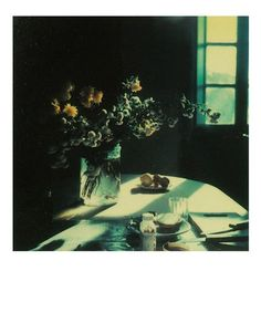 Russian filmmaker Andrei Tarkovsky's films — Solaris, Andrei Rublev, and Stalker among them — were renowned for the beauty of their imagery, so it comes as a bit of a surprise to learn that he was an aficionado of the Polaroid camera, a format not… Still Life Photography, Color Photography, Film Photography, Foto Still, Bokashi, Polaroid Pictures, Grafik Design, Filmmaking, Fine Art