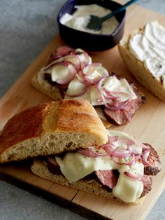 Grilled Tri Tip Sandwiches // @SpoonForkBacon