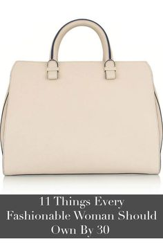 The pieces every woman should invest in by her 30's.