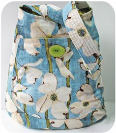 bucket bag pattern - one-piece pocket link