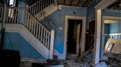 Abandoned House Interior - East Cleveland, Ohio. (Pictures of Abandoned Buildings in the Rust Belt.)