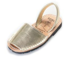 Child Metal   Abarcas, shoes & sandals   MIBO Cosits (Menorca)