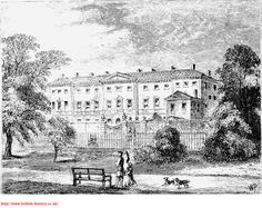 DEVONSHIRE HOUSE, ABOUT 1800.
