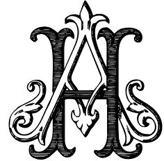 intellecta monograms font . extensive collection of ancient intricate monograms of all kinds mainly victorian style