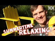 Adirondack Chairs Cute Ideas Easy Video | The WHOot