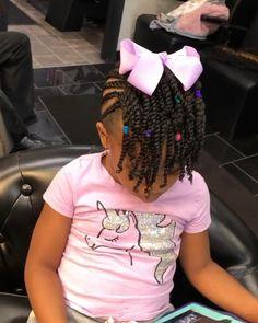 Little Girls Natural Hairstyles, Little Girl Braid Hairstyles, Toddler Braided Hairstyles, Natural Braided Hairstyles, Black Kids Hairstyles, Little Girl Braids, Baby Girl Hairstyles, Lil Girl Braid Styles, Toddler Braid Styles