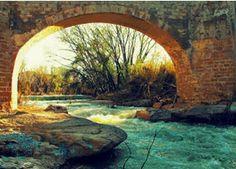Puente sobre el Guadalope en Castelseras