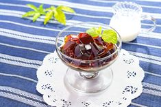 Discover this easy recipe for Japanese Coffee Jelly, a refreshing, light, and unusual dessert or summertime treat made of black coffee and gelatin. Jelly Recipes, Fudge Recipes, Dessert Recipes, Sushi Recipes, Unique Desserts, Sweet Desserts, Cold Desserts, Gourmet Desserts, Plated Desserts