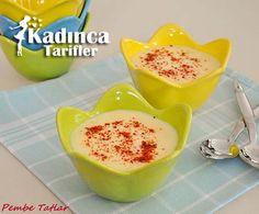 Karnabahar Çorbası Tarifi Salsa, Pudding, Kitchen, Desserts, Soups, Recipes With Rice, Tailgate Desserts, Cooking, Postres