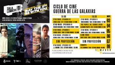Cartelera Sala Lumiére, Ciclo de Cine: Guerra de las Galaxias. Del 3 al 8 de mayo de 2016. Dos funciones: 16:00 y 18:30 horas. Cooperación: $10.00 #Culiacán, #Sinaloa.