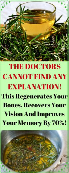 The Doctors Cannot Find Any Explanation! This Regenerates Your Bones, Recovers Your Vision And Improves Your Memory By 70 The Doctors Cannot Find Any Explanation! This Regenerates Your Bones, Recovers Your Vision And Improves Your Memory By Natural Home Remedies, Herbal Remedies, Health Remedies, Arthritis Remedies, Holistic Remedies, Vida Natural, Natural Healing, Natural Beauty, Healing Herbs