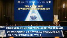 Projekcja filmu chrześcijańskiego sprawia, że widzowie zaczynają rozmyślać nad tajemnicami życia #Bóg #Jezus #JezusChrystus #PanJezus #PismoŚwięte #Zbawiciel  #ModlitwadoBoga #Krzyż #Chrześcijaństwo  #Filmchrześcijański  #zwiastunyfilmowe #filmywideo #Filfamilijny #Filmychrześcijańskiefamilijne #filmyobogu #NajlepszefilmyoBogu #KościółBogaWszechmogącego #BógWszechmogący #Błyskawicazewschodu James Bond, Mystery, Kentucky, Pennsylvania, Hollywood, Youtube, West Virginia, Historia, Film Festival