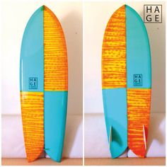 FISH SUMMER LOVE BY HAGE SURFBOARDS & DESIGNS resintint / fishboard / twinfin