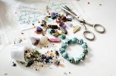 Turquoise skull necklace #DIY #jewelry #Skulls