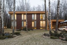 furniture House near Moscow by M2 Architectural Group