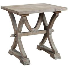 Found it at Wayfair.ca - Canterbury Reclaimed Wood End Table
