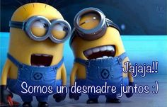 Funny Minion Pictures Below are some very funny minions memes, and funny quotes, i hope you will enjoy them at your best . and why not whatever minions do they always look funny and stupid . So make sure to share the best minions with your friends . Amor Minions, Minions Despicable Me, Minions Love, My Minion, Minions Quotes, Minions Cartoon, Happy Minions, Minion Talk, Chistes