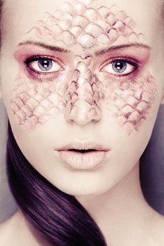 Dragon Scales makeup