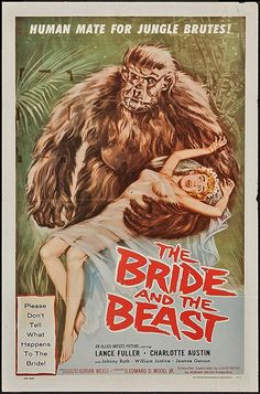 THE BRIDE AND THE BEAST 1958 Ed Wood Jr.