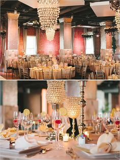 Glam wedding reception #weddingreception #elegantwedding #glamwedding #weddingdecor #centerpiece