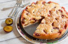 Makkelijke pruimentaart Dutch Recipes, Tart Recipes, Sweet Recipes, Baking Recipes, Bread Cake, Pie Cake, Tarte Tartin, Bake My Cake, Baking Bad