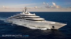 Superyacht 1 - Eclipse. Owner : Roman Abramovich (Owner of Chelsea FC...). $800 milion.