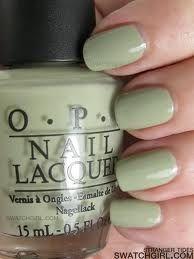 sage green nail polish!