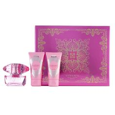 Versace Bright Crystal Absolu Women's Perfume Gift Set, Multicolor
