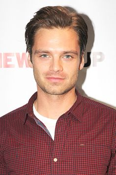 Sebastian Stan reminds me of a drivers license photo lol