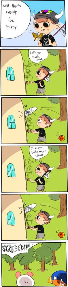 just open the goddamn door.