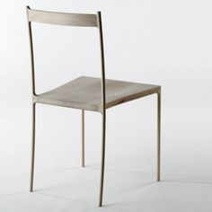 Simple wood chair, Nendo Cord-Chair