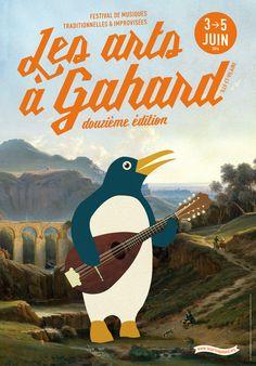 Les arts à Gahard #12 [2016] - ATELIER HURF   Yannis Frier Graphic, Arts, Illustration, Event Posters, Atelier, Illustrations