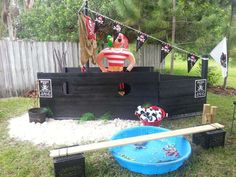 Pirate Birthday Party Ideas | Photo 7 of 14 | Catch My Party