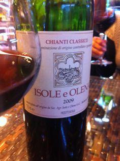 Chianti Classico, Isole e Olena, 2009. (photo by Locanda San Francesco #BoutiqueHotel + www.locandasanfrancesco.it)