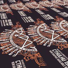 Ultimi preparativi in vista del #romics  #tshirt #tees #rock #heavymetal #romics2015 #roma #tattoo #comics #illustrator #illustration #instagramhub #picture #picoftheday #photooftheday #artist #adobe #art #dress #black #cthulhu #lovecraft #creative #love