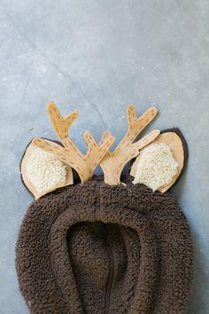 Baby deer costume: http://www.stylemepretty.com/living/2015/10/12/diy-halloween-costume-baby-deer/ | Photography: Ruth Eileen - http://rutheileenphotography.com/