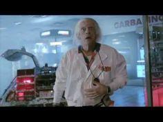 El Delorean de Volver al Futuro en Cabildo y Juramento - (HD - HQ) - Doc Emmet Brown (BTTF)