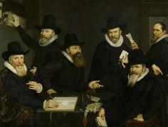Cornelis van der Voort The Governors of the Old Men's and Women's Home (1618)