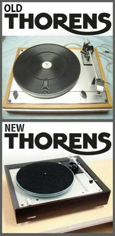 High end audio audiophile Thorens Turntable